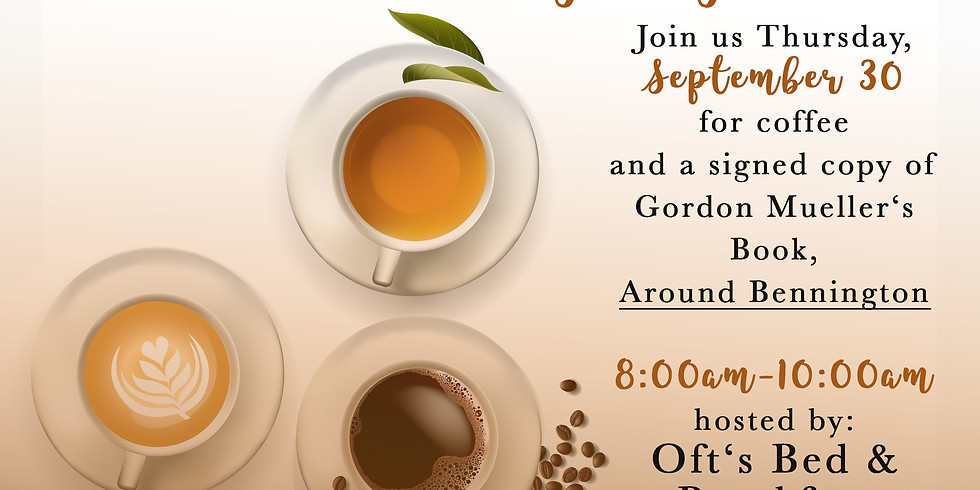 Coffee & Book Signing