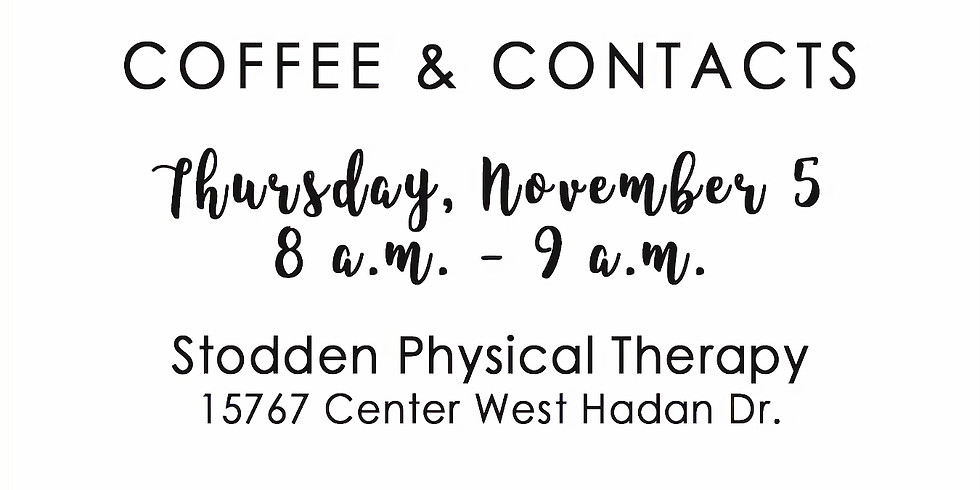 Coffee & Contacts November