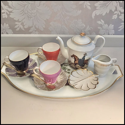 set thé vintage