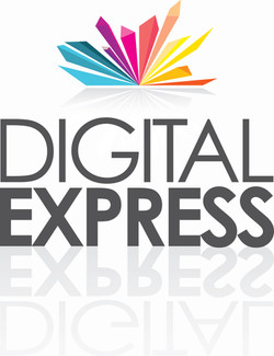 Digital Express vertical logo
