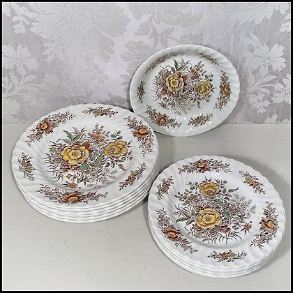 set d'assiettes anglaises