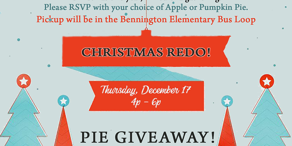 Christmas Pie Giveaway