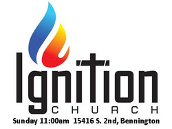Ignition angles logo with time and addre