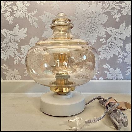 """lampe de table """"toupie"""" vintage"""