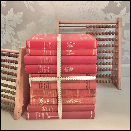 set de 10 livres vintage