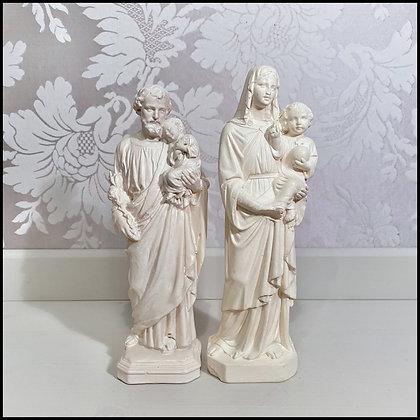 Sainte Vierge à l'Enfant et Saint Joseph