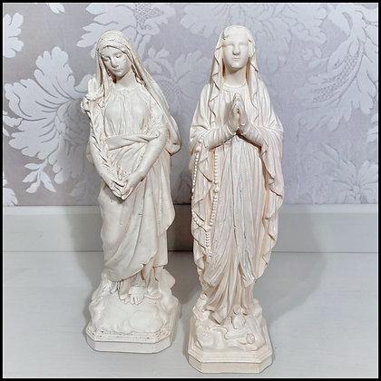 Sainte Vierge et Sainte au Lys