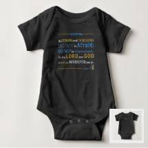 Baby Bodysuit | Joshua 1:9