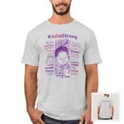 Men's Shirt | #JuliaStrong Words & S