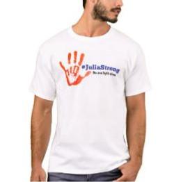 Julia Strong Handprint