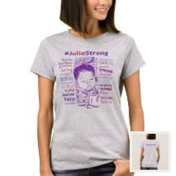 Women's Shirt | #JuliaStrong Words &
