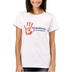 Julia Strong Handprint L