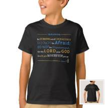 Kid's Shirt | Joshua 1:9