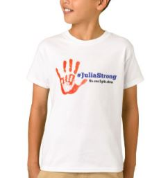 Julia Strong Handprint Bb