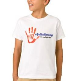 Julia Strong Handprint Bb