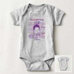 Baby Bodysuit | #JuliaStrong Words &