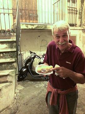 Bob Steinbugler - desert in Italy!