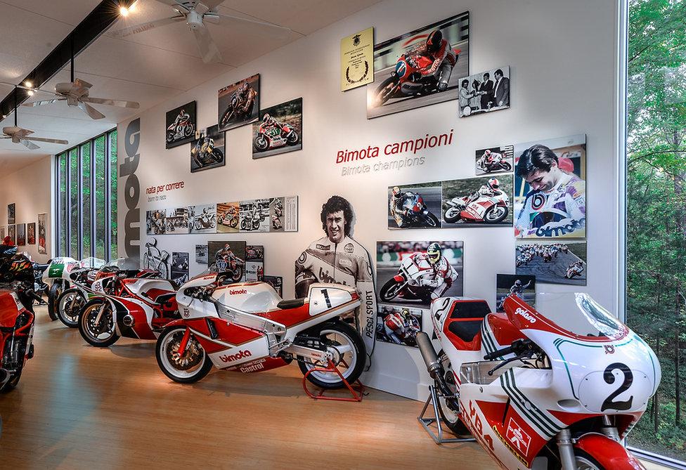 Bimota Spirit Museum - racing