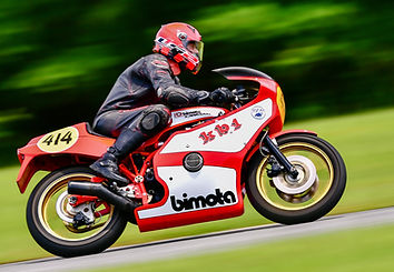 Bimota Spirit - KB1 on track