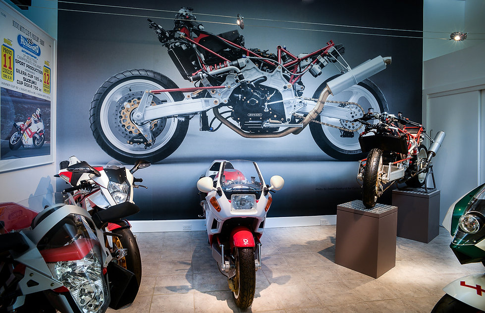 Bimota Spirit Museum - Tesi and Vyrus