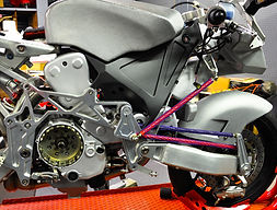 Bimota Spirit - Vyrus 987 construction