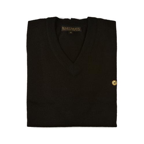 Kuraq V-Neck Pullover MEN - Schwarz