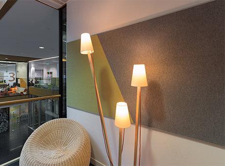 Quietspace Composition Acoustic Fabric