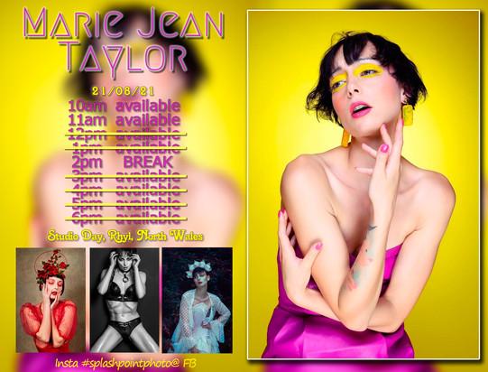 Marie Jean Studio Day
