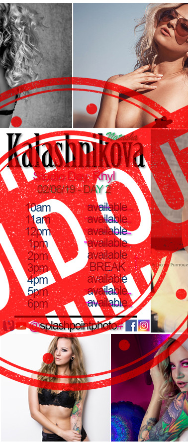 Natasha Kalashnikova - SOLD OUT