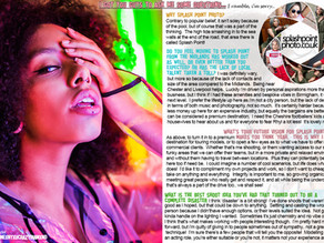 Splash Point 'lockdown magazine' 2020