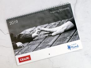 Cewe 2019 Charity Calendar + updates