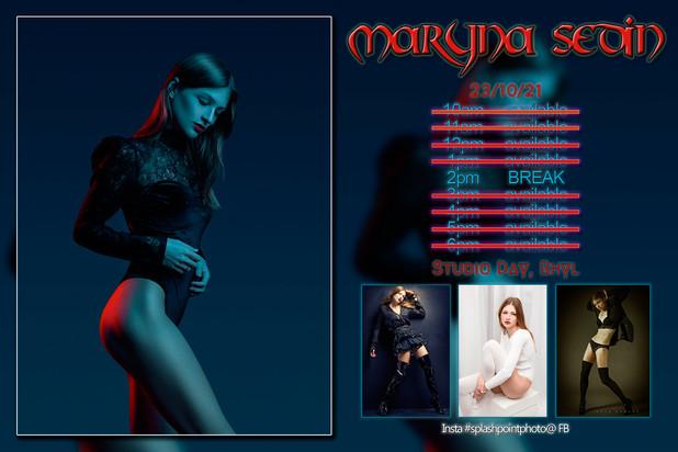 Maryna Day 1