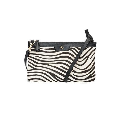 Skat Clutch Zebra