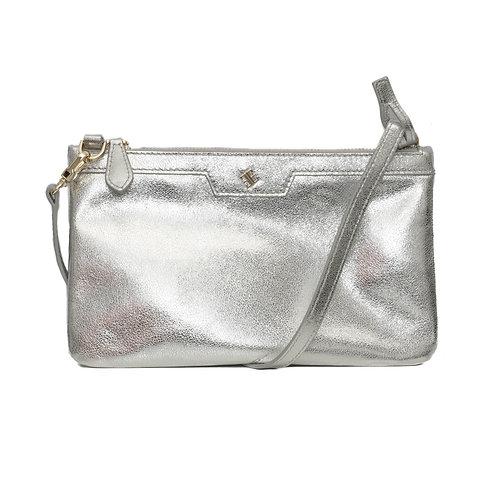 Skat Clutch Silver