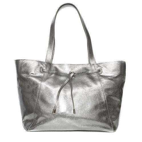 SW1 Knightsbridge Shopper - Silver