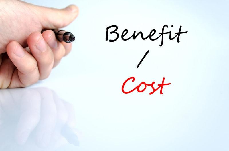 Cost Versus Benefit