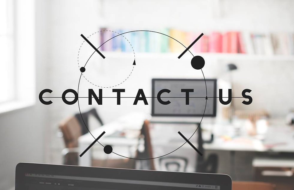 This image is of an office in the background representing our contact us page.
