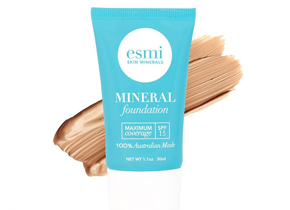Esmi Liquid Mineral Foundation - Skin type III - IV 30ml