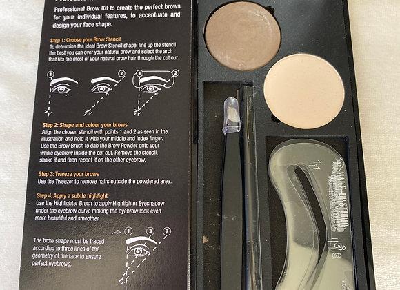 Makeup Studio 5 piece Dark Brow Kit Bundle