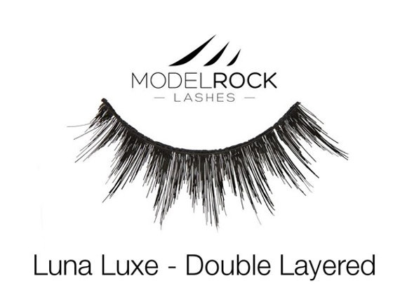 Modelrock Eyelashes - Luna Luxe double layered