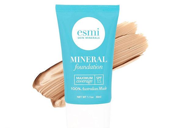 Esmi Liquid Mineral Foundation -  Skin type II-III 30ml