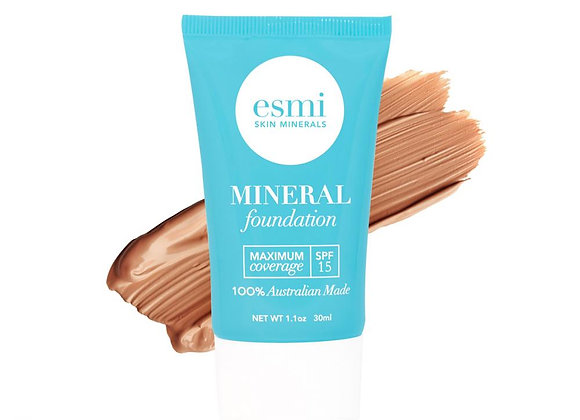 Esmi Liquid Mineral Foundation - Skin type IV -V 30ml
