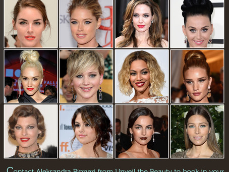 School Formals Approaching; have you chosen your desired look for hair & makeup?