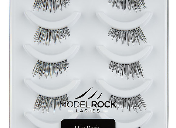 Modelrock Eyelashes -Miss Rosie 5 pack