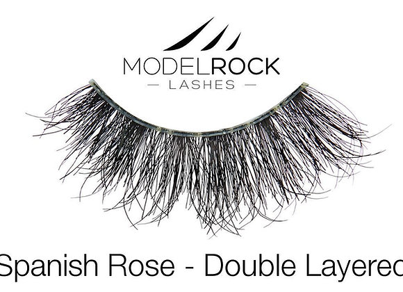 Modelrock Eyelashes - Spanish Rose double layered