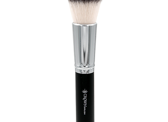 Crown Synthetic foundation base flat kabuki brush