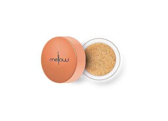 MELLOW Glitter Chrome Eyeshadow -Golden Glow