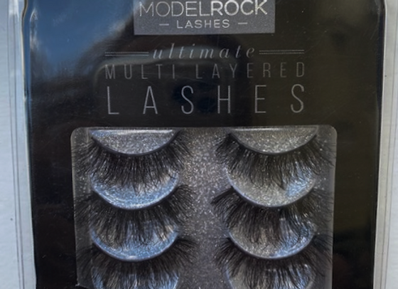 Modelrock Eyelashes - Spanish Rose 3 pack