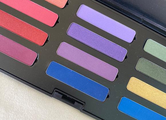 12 Eyeshadow Colourful Palette -Makeup Studio refills