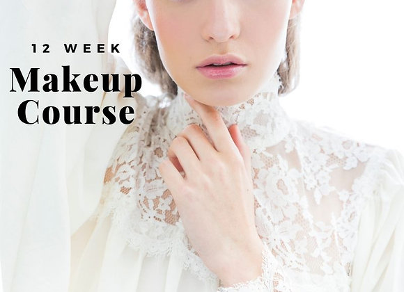 12 Week Professional Makeup Course